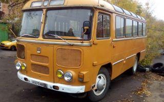 ПАЗ 672 — автобус с характерным звуком мотора