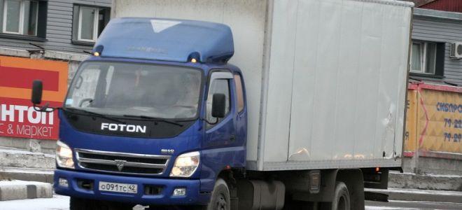 Foton семейства BJ 1039 Aumark — популярный китайский грузовик