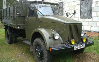 ГАЗ модели 52 технические характеристики советского грузовика