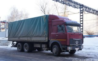 МАЗ 6303 — характеристика базового тягача, расход топлива