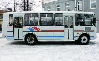 ПАЗ 4234 — характеристики дизельного автобуса
