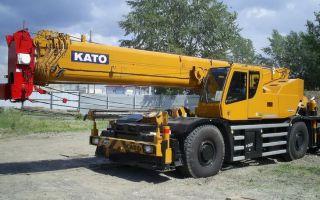 Автокран 25 тонн — основные представители