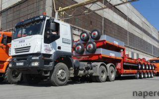Перевозка полуприцепов и других грузов