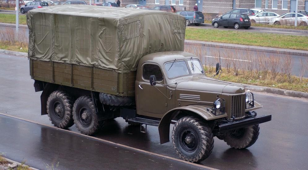 грузовик зил 157