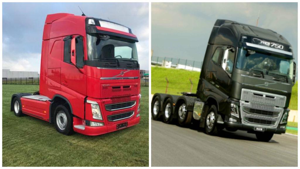 Volvo 420 vs 750