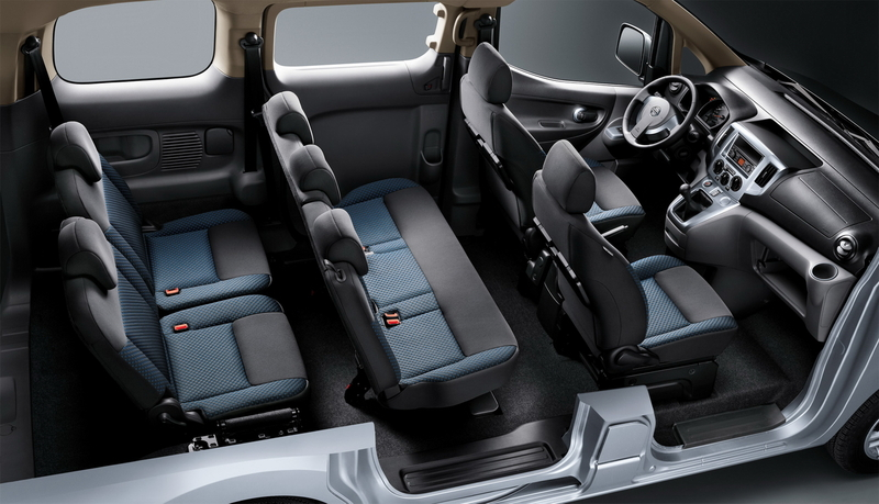 Салон Nissan NV200