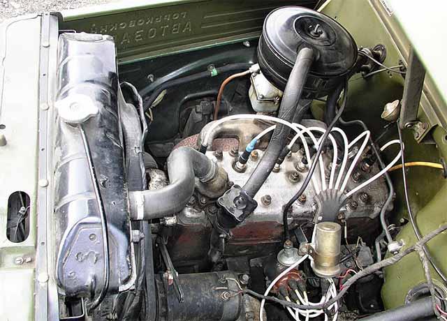 Двигатель газ 51