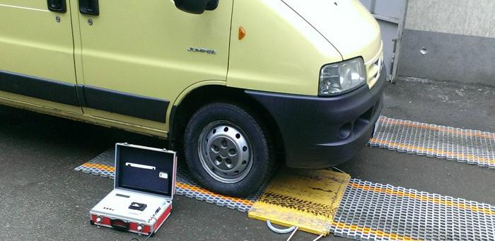 Весы для определения перегруза автомобиля
