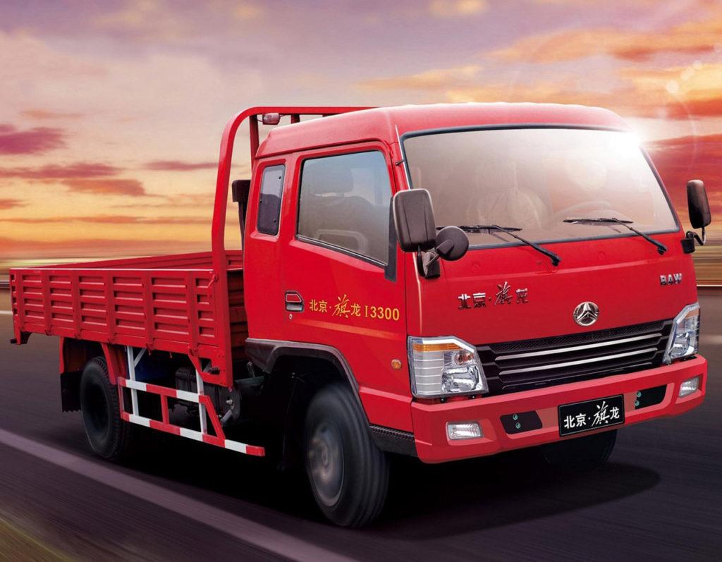 Китайский грузовик BAW Fenix