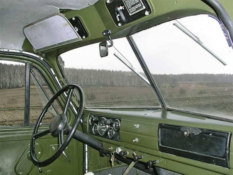 Кабина ГАЗ 51