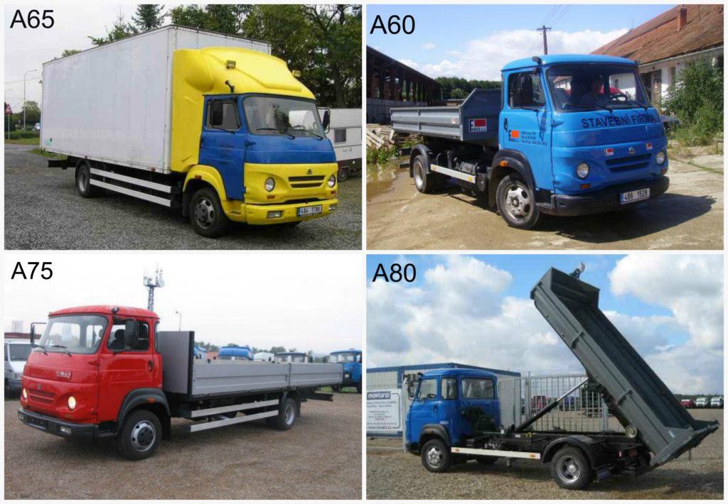 Модели грузовиков марки Daewoo-Avia