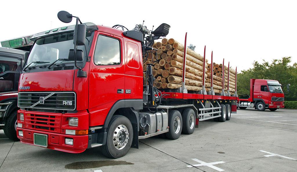 перевозка леса автомобильным транспортом