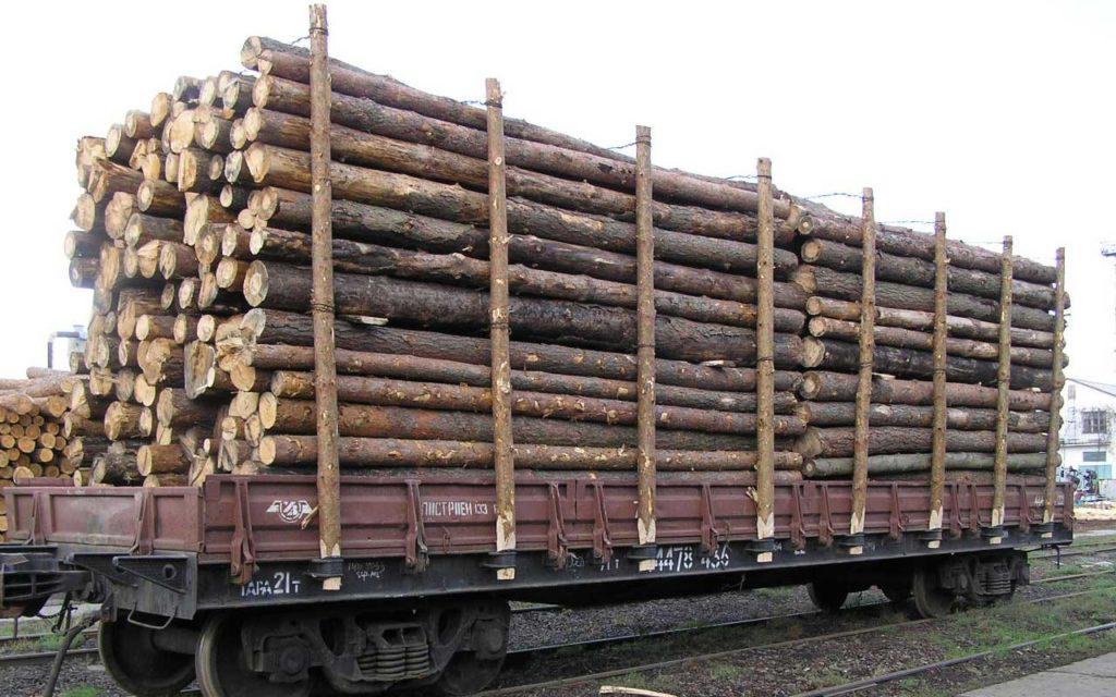 перевозка леса железнодорожным транспортом