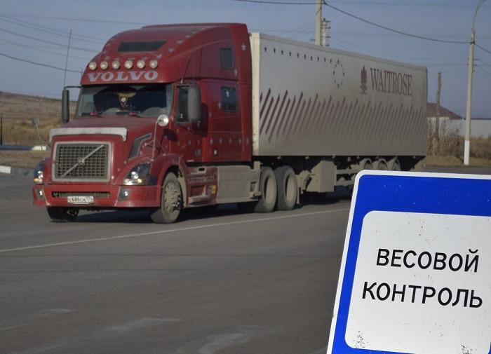 весовой контроль грузовика