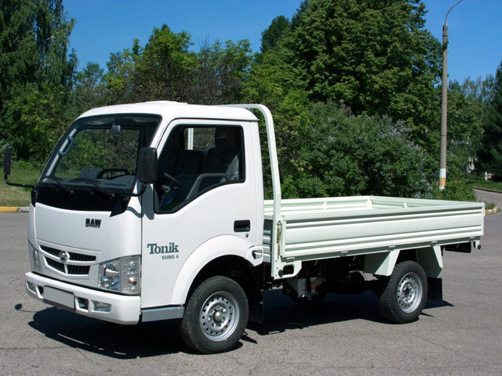Китайский грузовик BAW Tonic