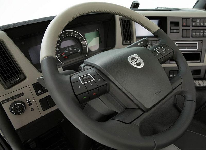 Удобство рулевого управления Volvo FM