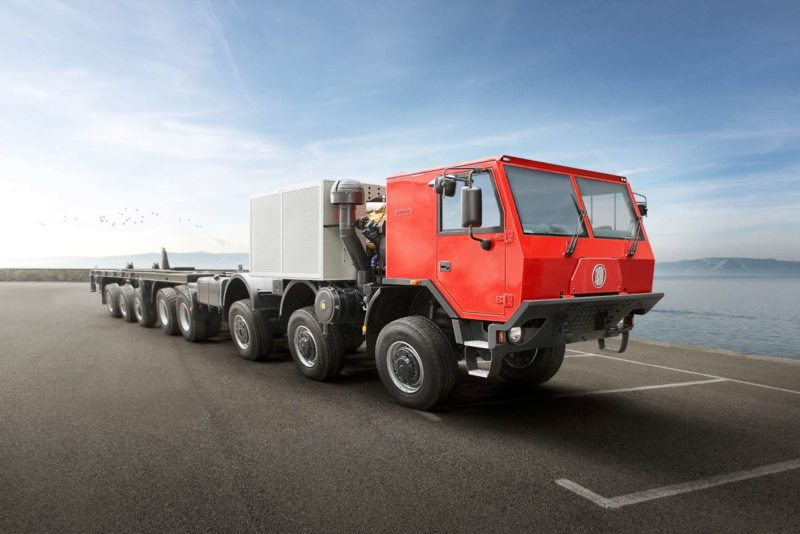 Самый большой тягач марки Tatra