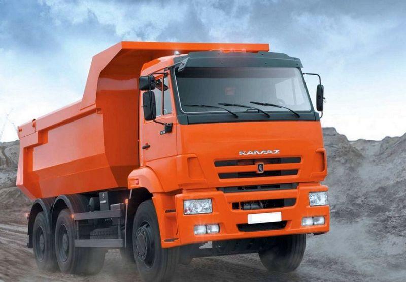 Камаз самый популярный грузовик в Росии