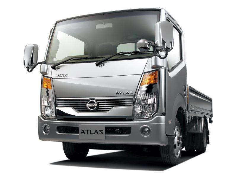 Модель Nissan Atlas известна в Европе под названием Cabstar