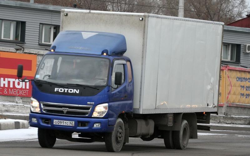 Грузовик с кузовом фургон