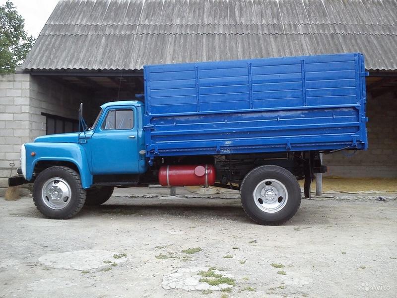 Удлиненный бортовой грузовик