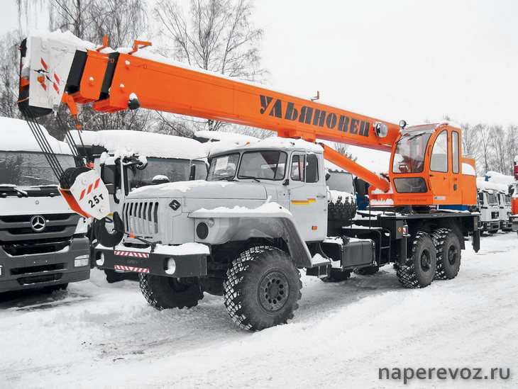 Автокран 25 тонн Ульяновец