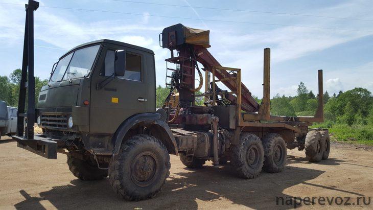 Лесовоз КамАЗ 4310