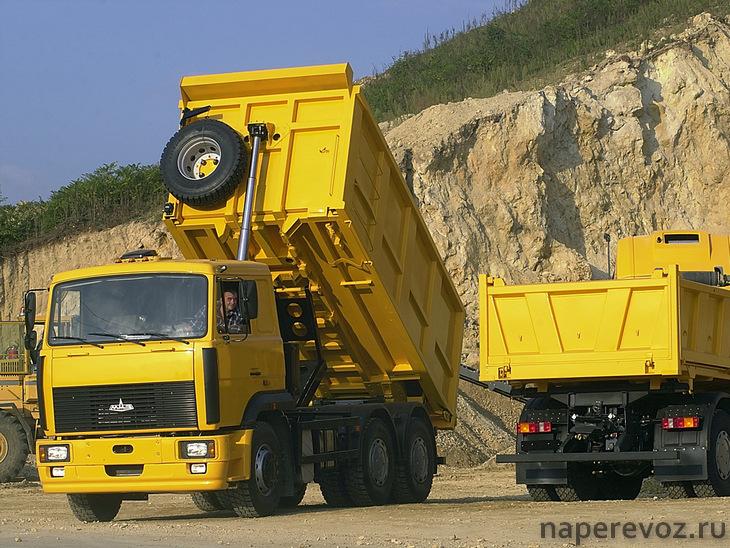 МАЗ 5516 характеристики