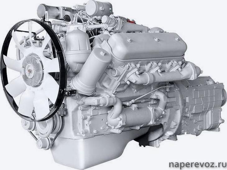 МАЗ 6303 Двигатель