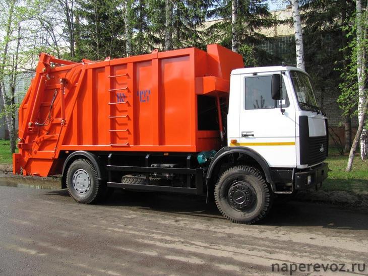МАЗ-5340В2 мусоровоз