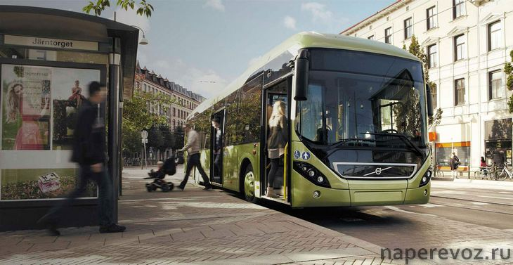 Вольво автобус 7900