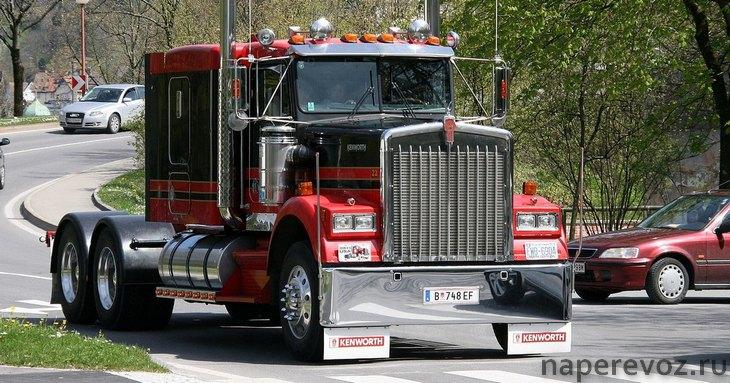 американские грузовики Kenworth
