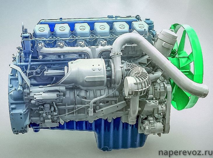 КАМАЗ 65207 Двигатель Daimler OM 457 LA