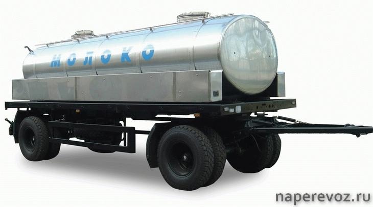 Цистерна для молока Г6-ОПА-8,1