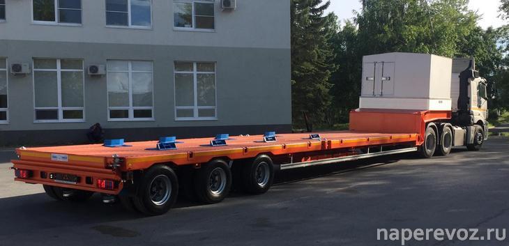 КАМАЗ полуприцеп контейнеровоз