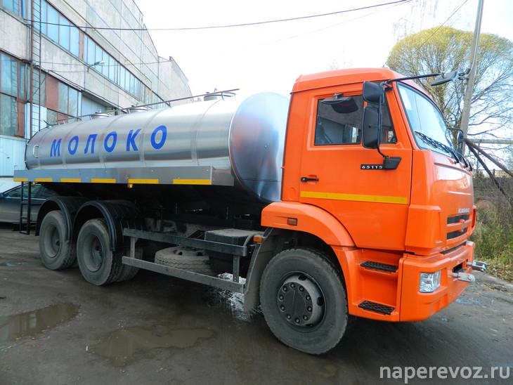 Цистерна для молока КамАЗ-65115