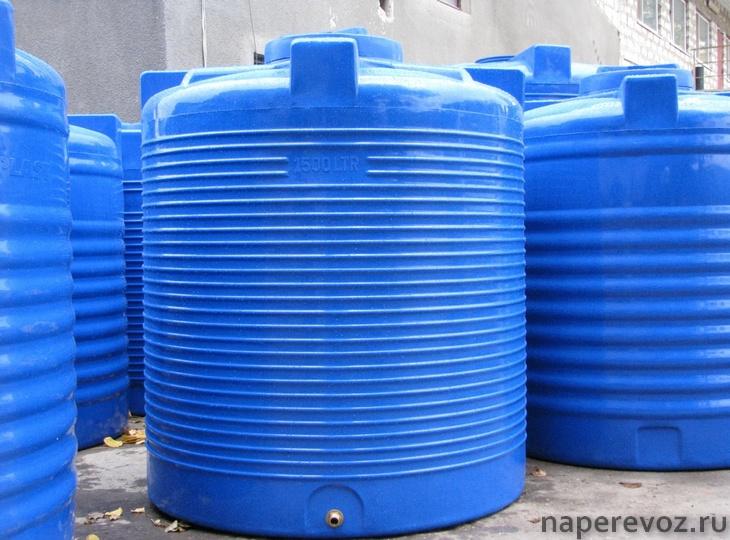 Пластиковая цистерна для воды