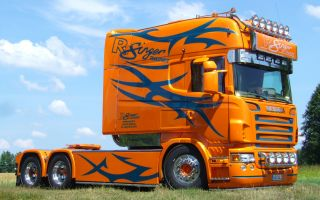 Scania марки Longline — эталон магистрального тягача